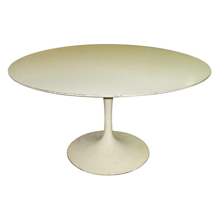 Original Round Tulip Dining Table By Eero Saarinen 1956 1