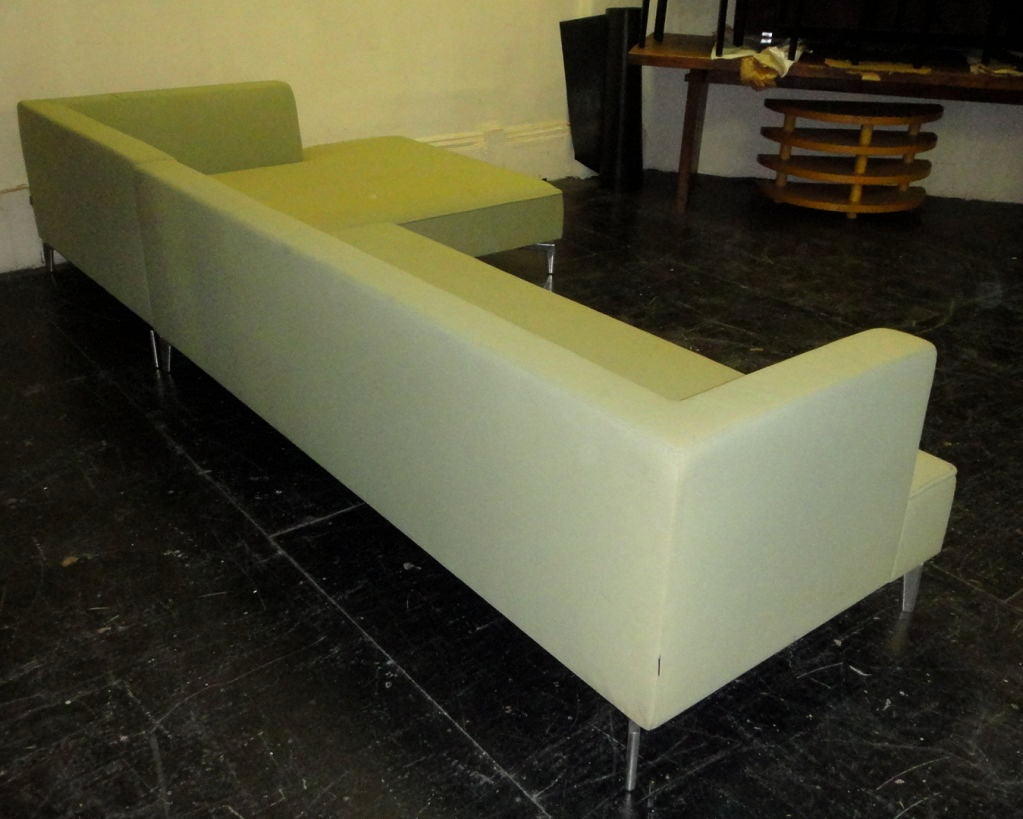 sectional sofa by ligne roset french circa 1980 at 1stdibs. Black Bedroom Furniture Sets. Home Design Ideas
