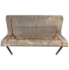 Outodoor Bench French Circa 1950