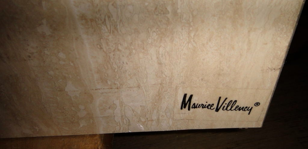 Dining Table signed Maurice Villency American 1970s at  : 807313086002776 from www.1stdibs.com size 1024 x 495 jpeg 54kB