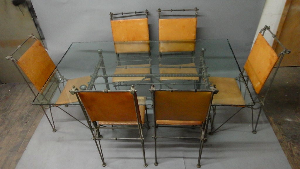Dining Room Furniture Israel Set Of Table And Chairs By Ilana Goor Israeli 1980