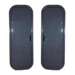 Pair of Doors by Charlotte Perriand French Circa 1960