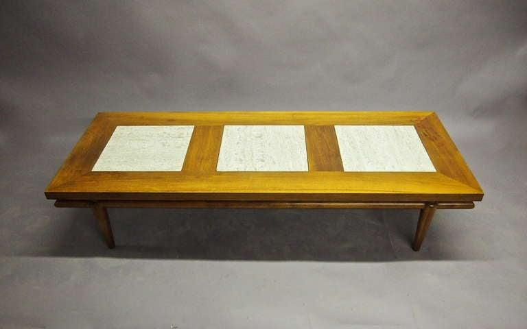 Coffee Table 72 Inch Labeled John Widdicomb Circa 1950