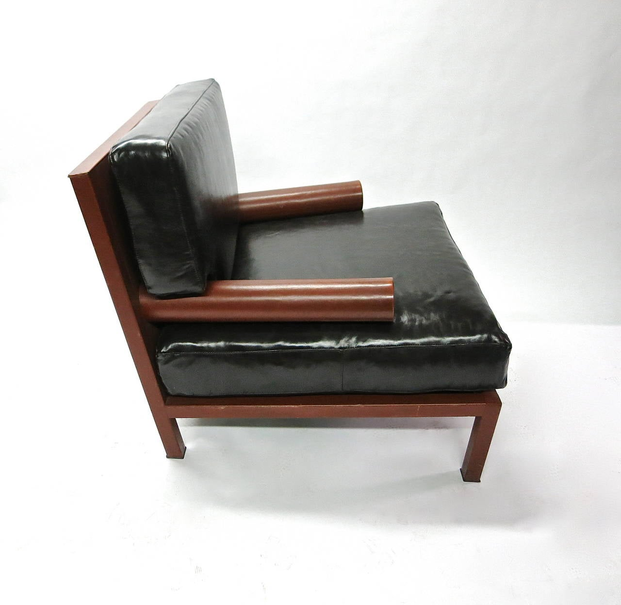 Italian Oversized Chair Designed by Antonio Citterio for B&B Italia, Made in Italy, 1987 For Sale