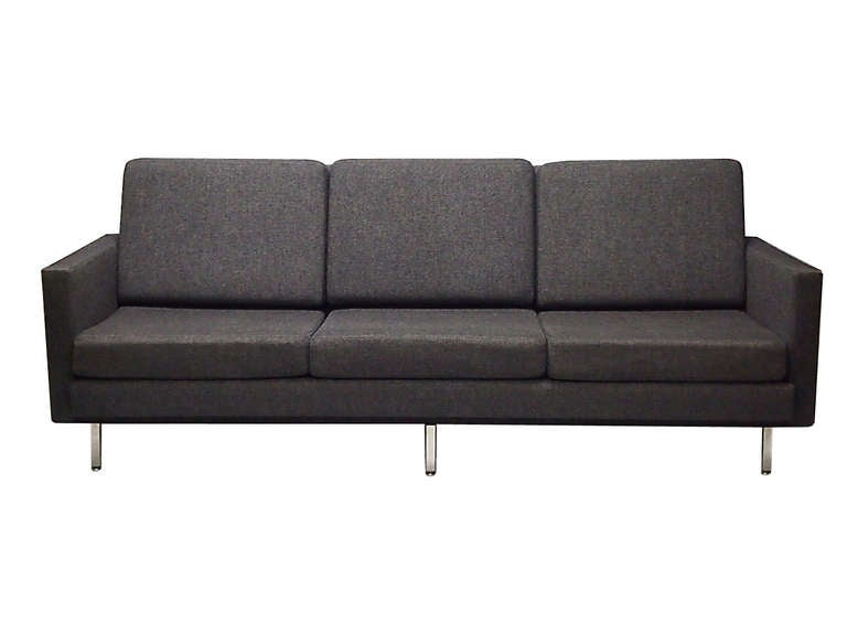 Sofa In The Style Of Florence Knoll Circa 1970 American At