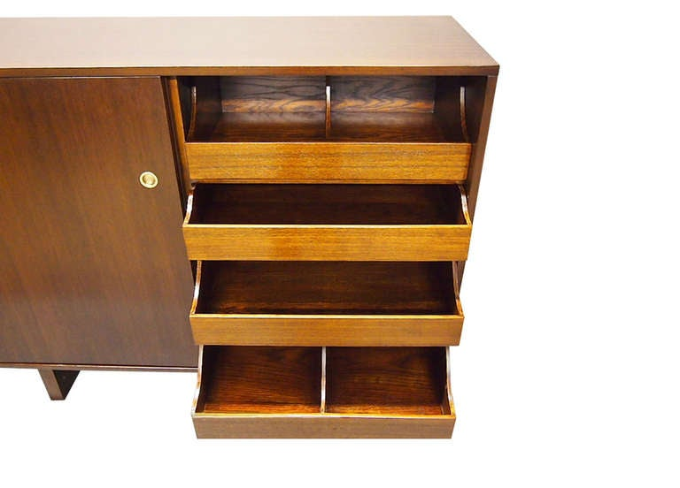 Wood Pair of His and Hers Dressers by Widdicomb 1949 Made in USA For Sale