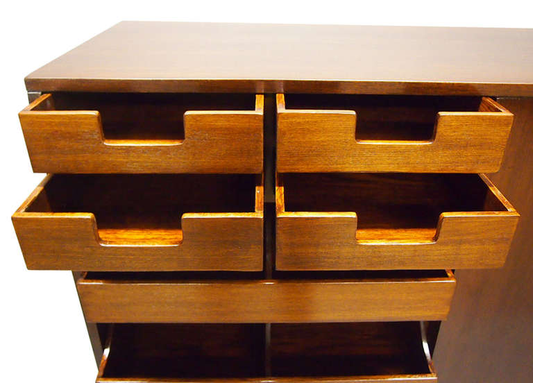 Pair of His and Hers Dressers by Widdicomb 1949 Made in USA For Sale 2