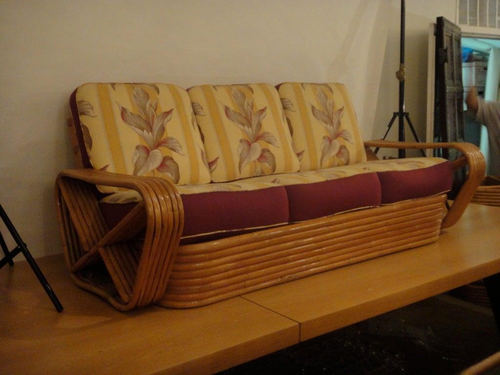 Sofa In Bamboo Phillipines Circa 1955 At 1stdibs