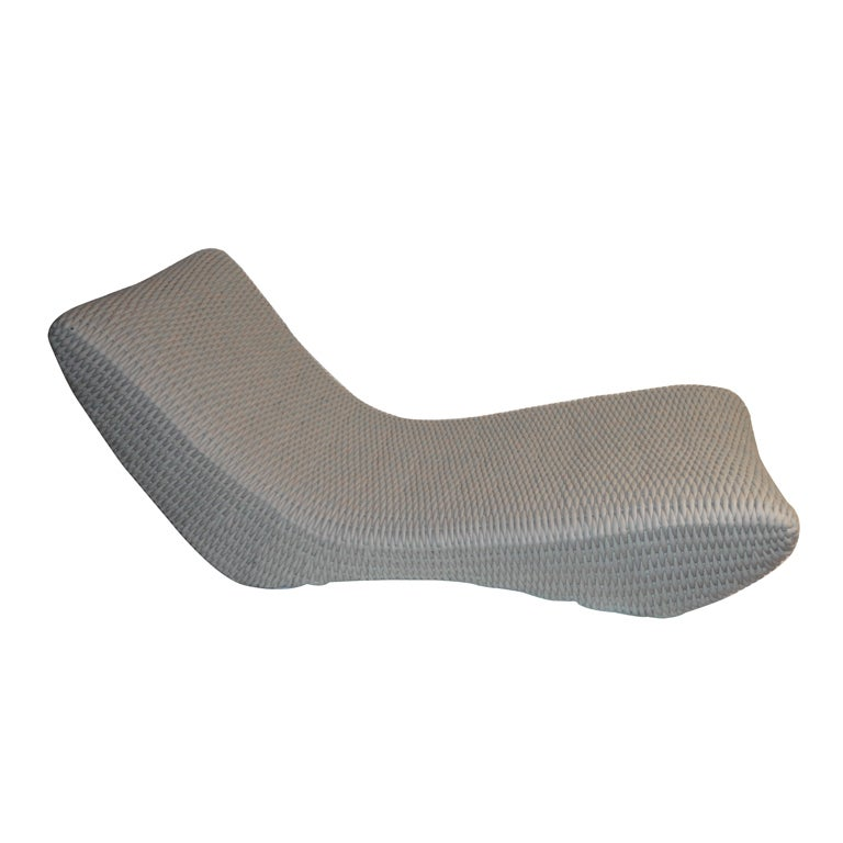 Chaise longue in leather by peter casablanca american for Chaise longue leather