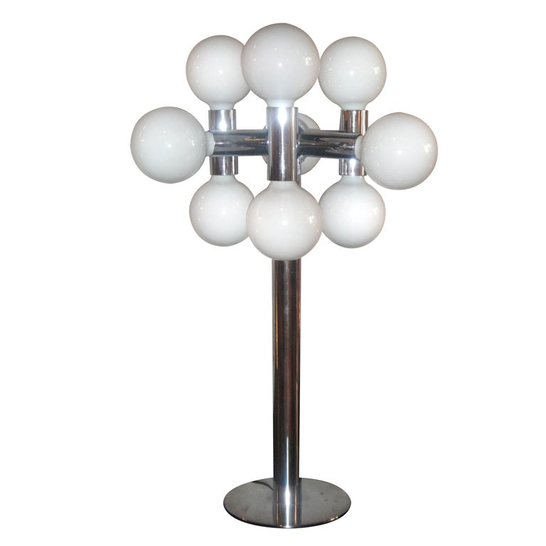 Table Lamp by Robert Sonneman, circa 1970, American