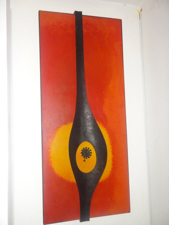 Wall Sculpture American Circa 1970 image 4