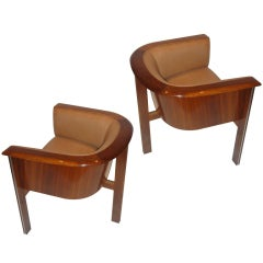 "Pair of ""Cycle I"" Chairs by Vladimir Kagan American Circa 1965"