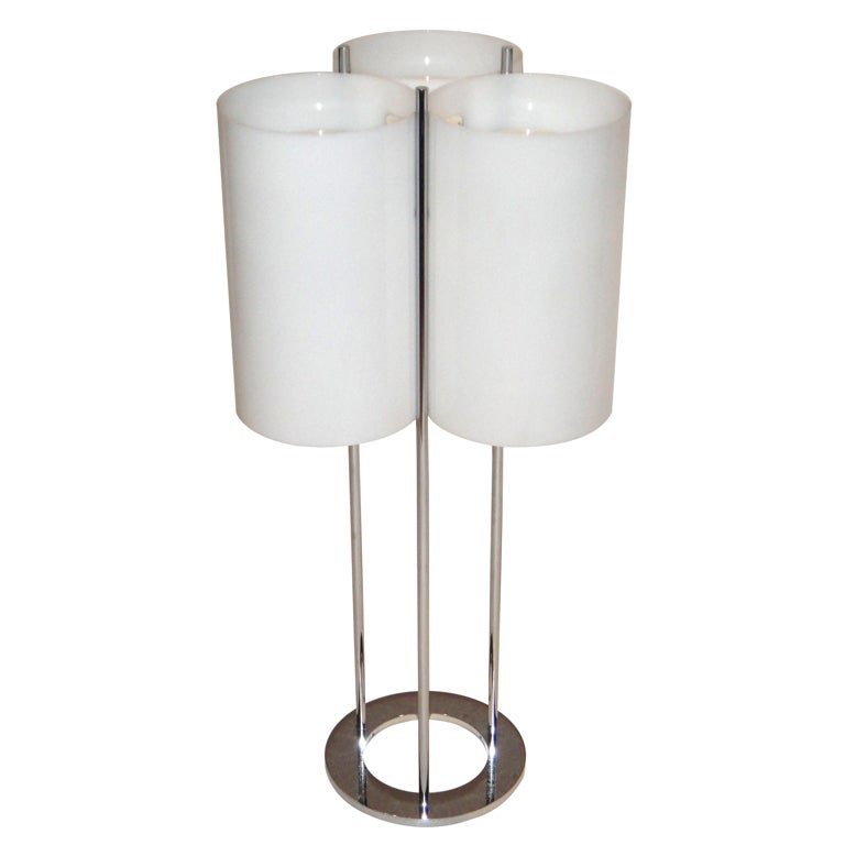Tall table lamp by sonneman circa 1960 american at 1stdibs for Tall table lamps