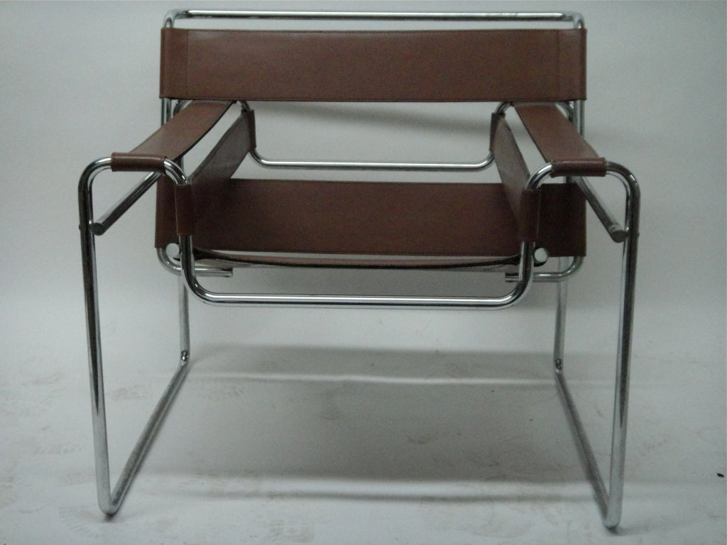 Single wassily chair marcel breuer for knoll circa 1970 at 1stdibs - Wassily chair price ...