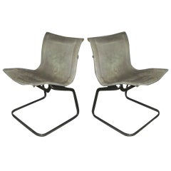 Pair of Chairs by De Sede circa 1960 Switzerland