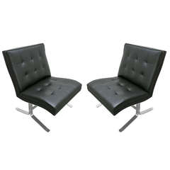 Pair of Chairs Made by Mobilier International, circa 1970, France