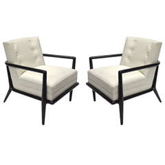 Pair of Chairs by T.H. Robsjohn-Gibbings for Widdicomb 1940's American