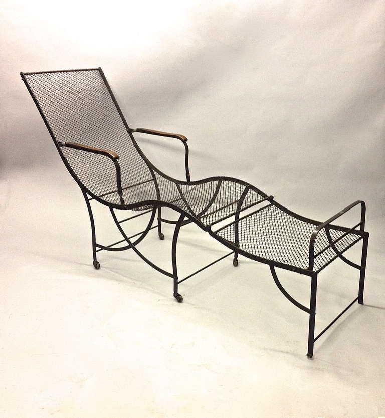 Two outdoor chaises longues circa 1920 french at 1stdibs for 1920s chaise lounge