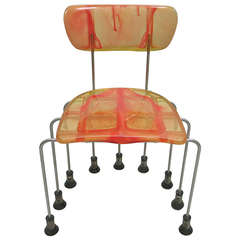 '543 Broadway Chair' by Gaetano Pesce for Bernini, Made in Italy, 1993 34/1000