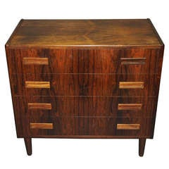 Small scale Dresser in Rosewood by P. Westergaard circa 1960 Danish