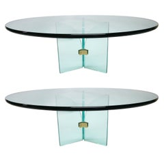 Two Coffee Tables by Pace, circa 1970 Made in USA