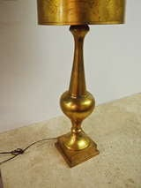 Gilt Table Lamp, may have been done by James Mont 1940's American image 2