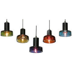 Five Ceiling Lights Designed by Flavio Poli