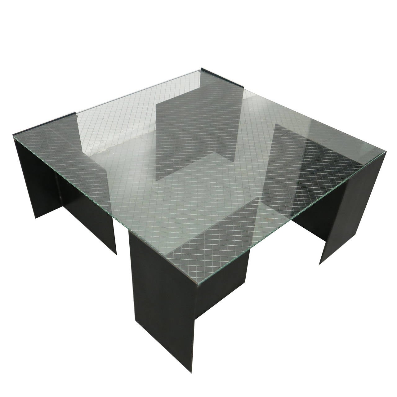 Coffee Table By Richard Troy For Art And Industry Soho Nyc 1980 For Sale At 1stdibs