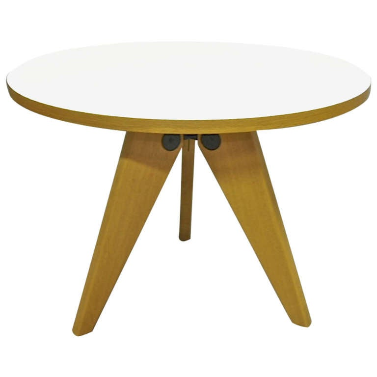 Gueridon Table Prouve Collection 2002 Edition Vitra  : 858147l from 1stdibs.com size 768 x 768 jpeg 20kB