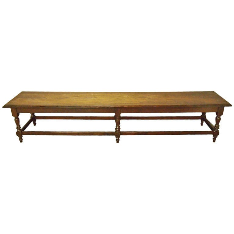 9 Feet Long Bench Styled after Anglo Raj  Circa 1915 India