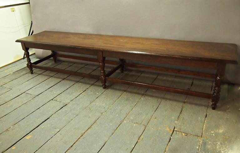9 Feet Long Bench Styled after Anglo Raj  Circa 1915 India image 6