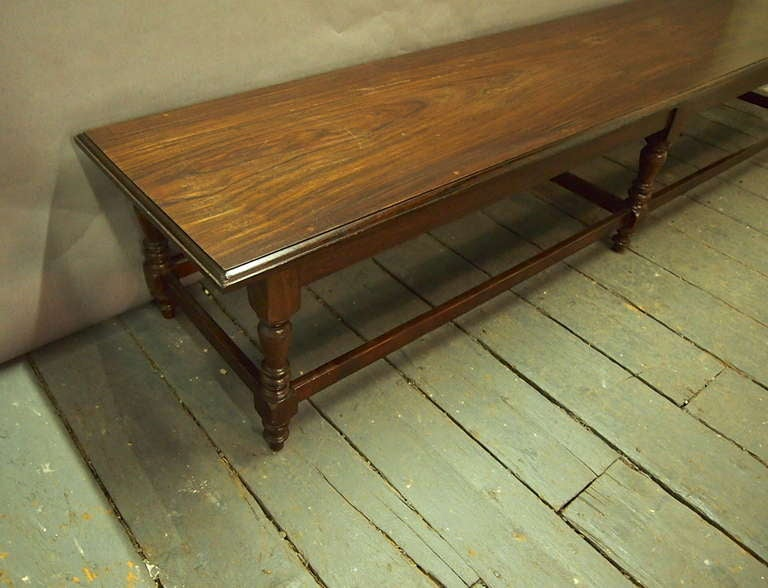 9 Feet Long Bench Styled after Anglo Raj  Circa 1915 India image 3