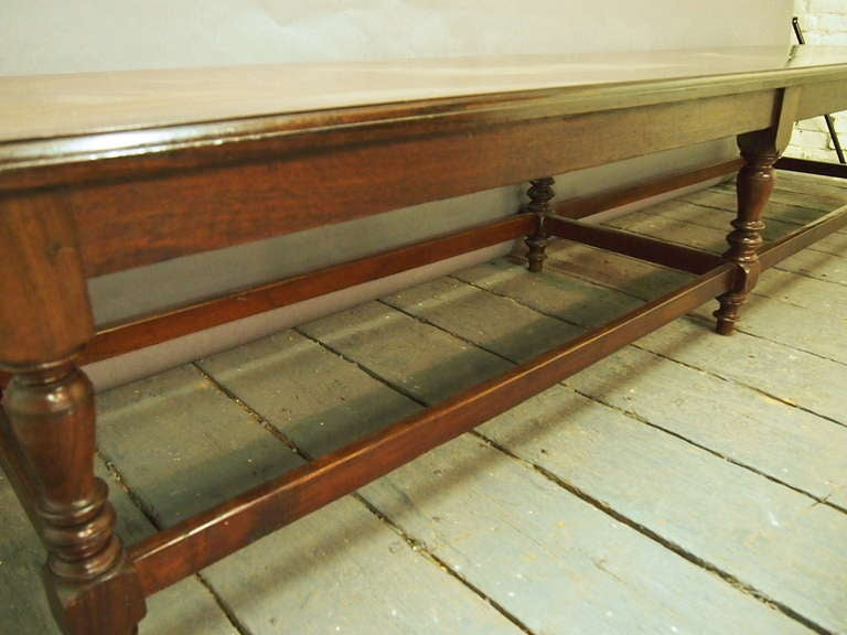9 Feet Long Bench Styled after Anglo Raj  Circa 1915 India image 4