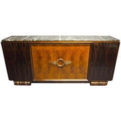 Cabinet Attributed to Majorelle Circa 1930 France
