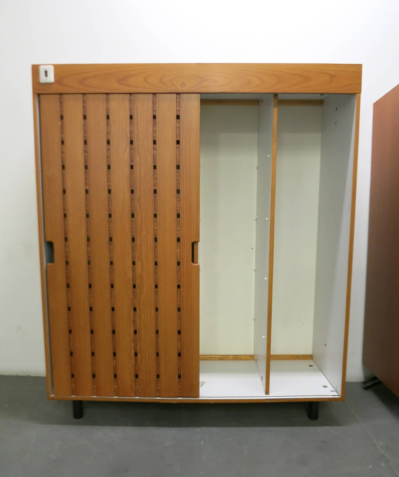 Pair of Wardrobes by Charlotte Perriand, in 1967 for Les Arc Ski Lodge, France For Sale 1