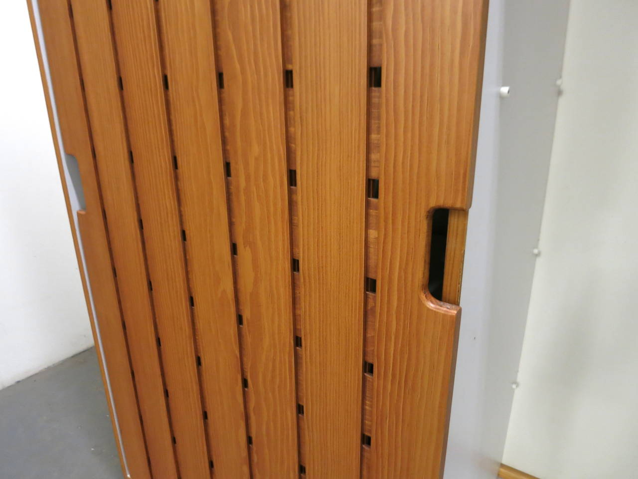 Pair of Wardrobes by Charlotte Perriand, in 1967 for Les Arc Ski Lodge, France For Sale 2