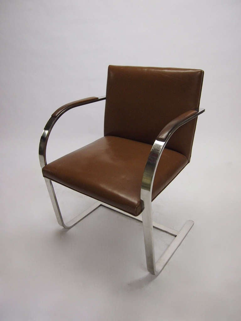 8 brno chairs mies van der rohe 1930 design made in 1958 for Chair design 1930
