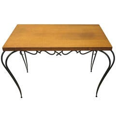 Table by Rene Prou circa 1935 Made in France