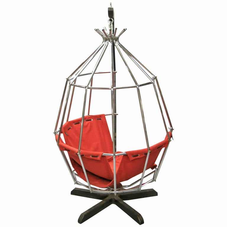 Parrot Swing Chair Designed By Ib Arberg For