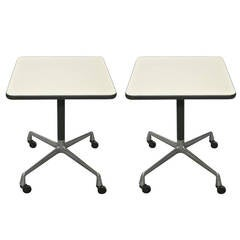 Pair of Side Tables by Eames for Herman Miller
