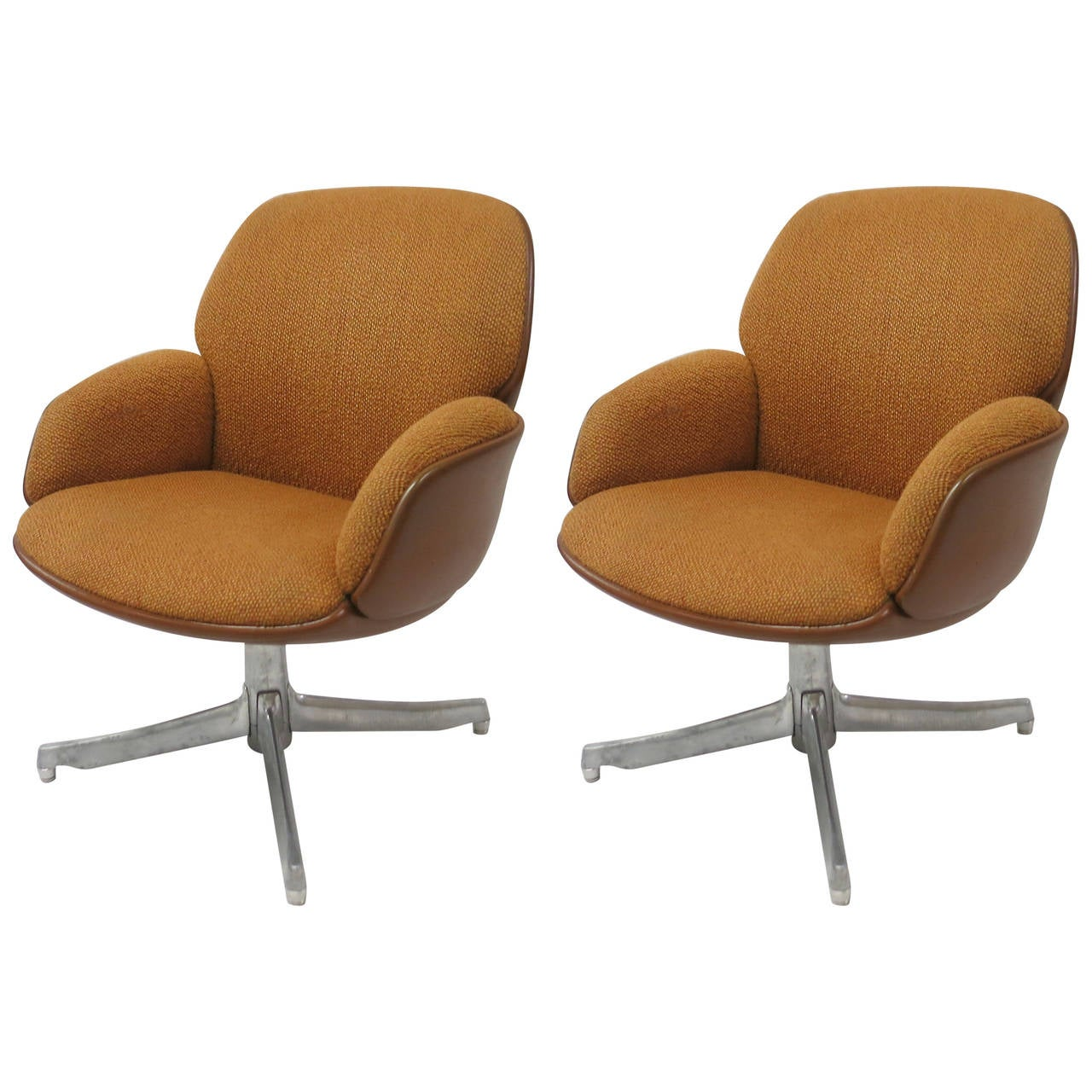 Pair of Chairs by Warren Platner for Steelcase, USA Circa 1965