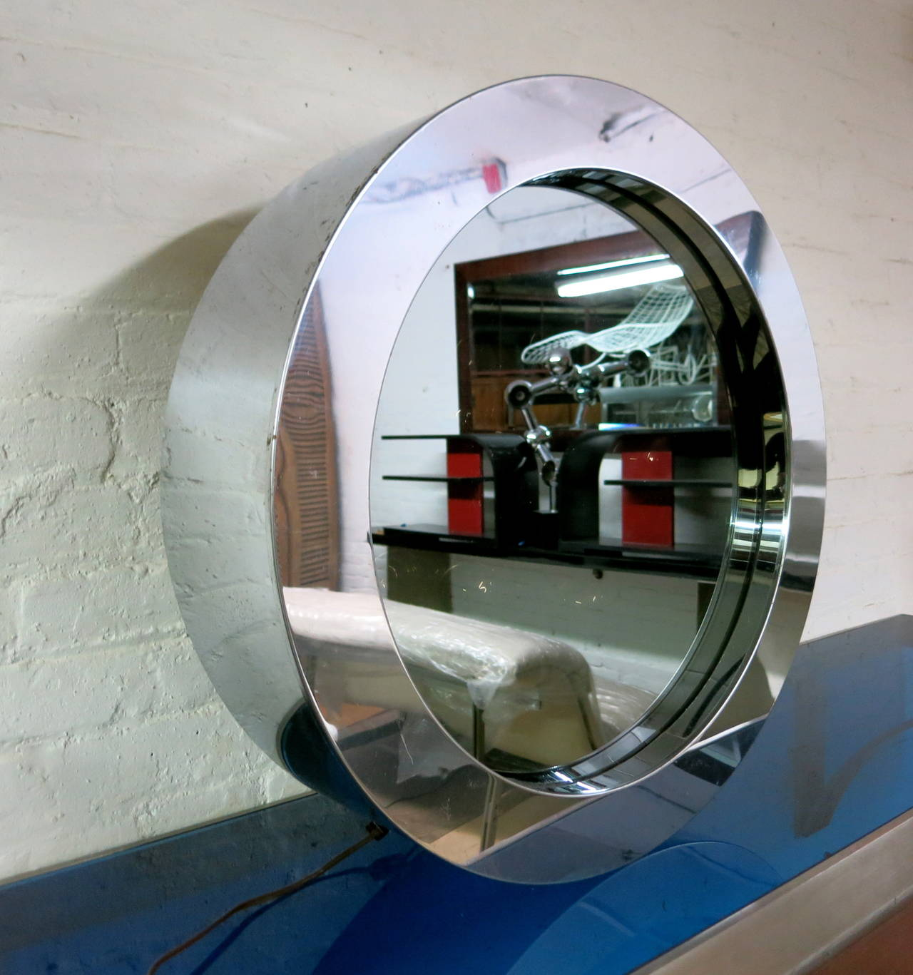 Infinity Mirror Singed C Jere 1977 Made In Usa At 1stdibs