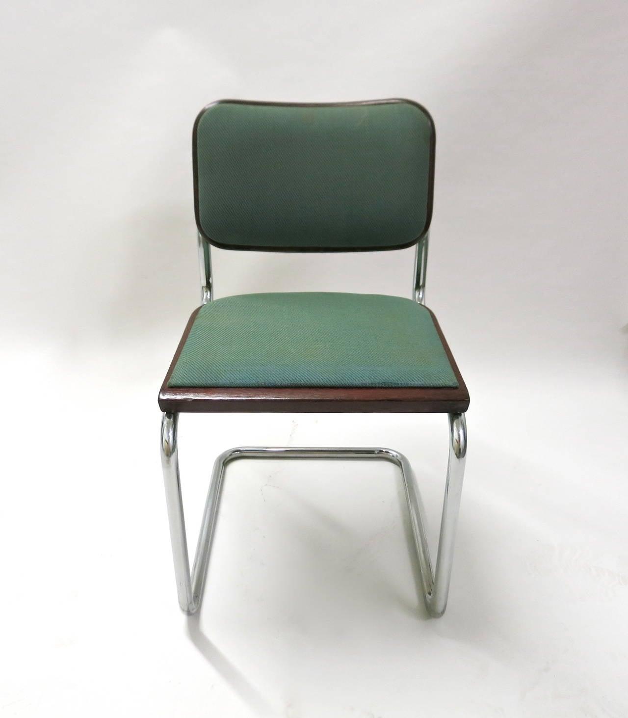 Bauhaus chair breuer - 100 Dining Chairs By Marcel Breuer Bauhaus 1928 Knoll Produced In 1985 2