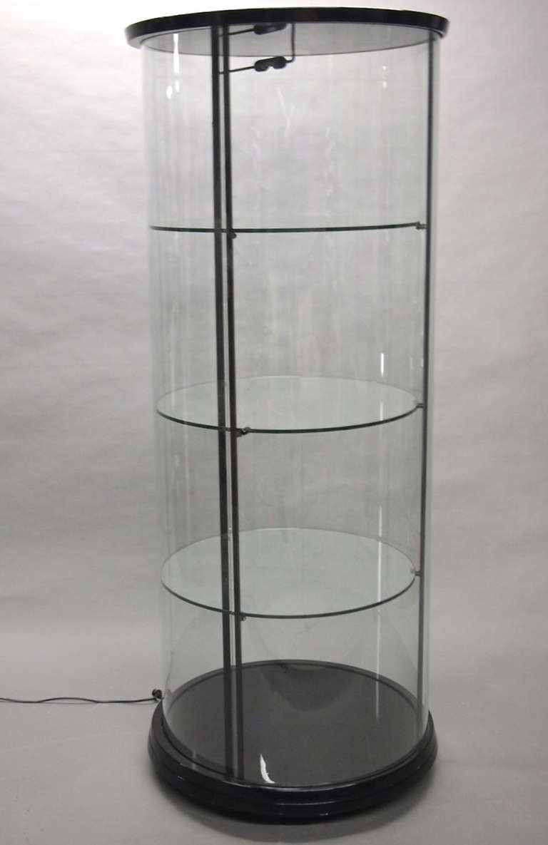Display Case From Pace Collection American Circa 1980 At