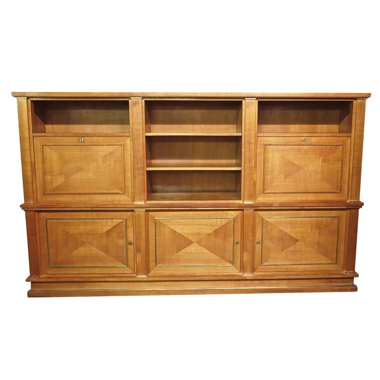 Cabinet by Jacques Adnet, circa 1950, Made in France