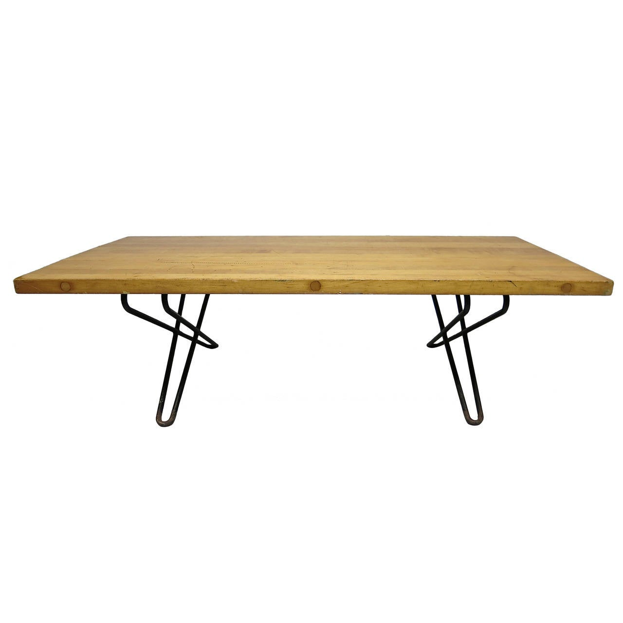 Coffee Table Designed By Henry Robert Kann For Knoll In 1953 Made Usa