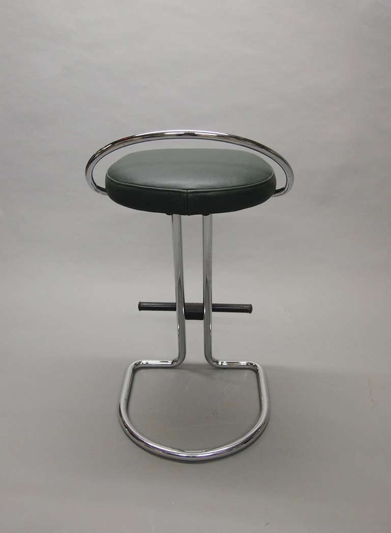 Pair of Stools Labeled Made in Italy Circa 1965 8