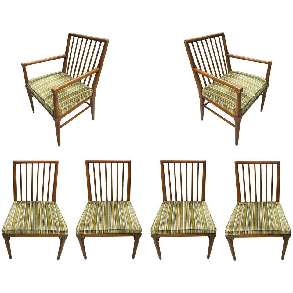 Set Of Six Dining Chairs By John Widdicomb Circa 1950