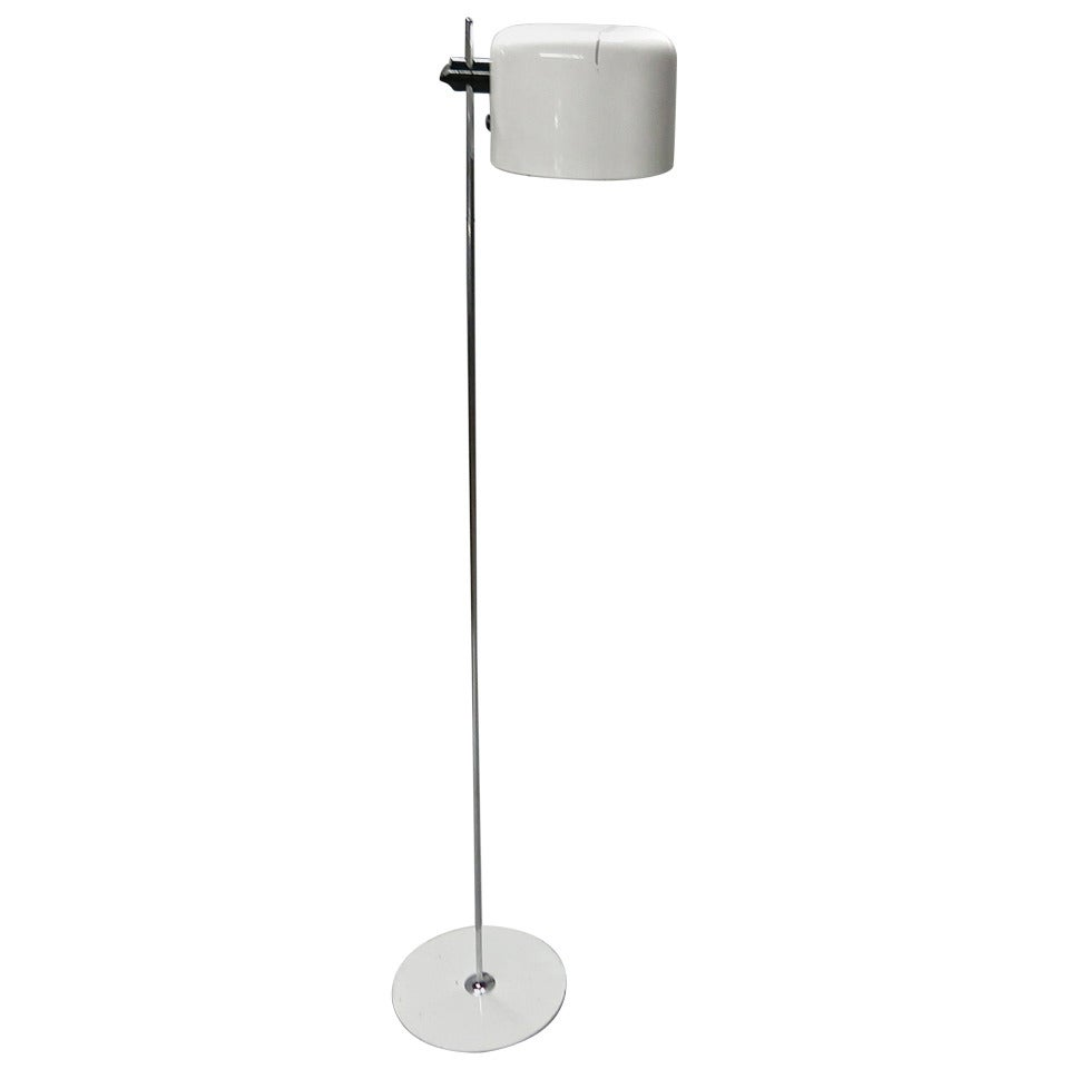 Vintage Coupe Floor Lamp by Joe Colombo for Oluce, 1967, Milano Italy