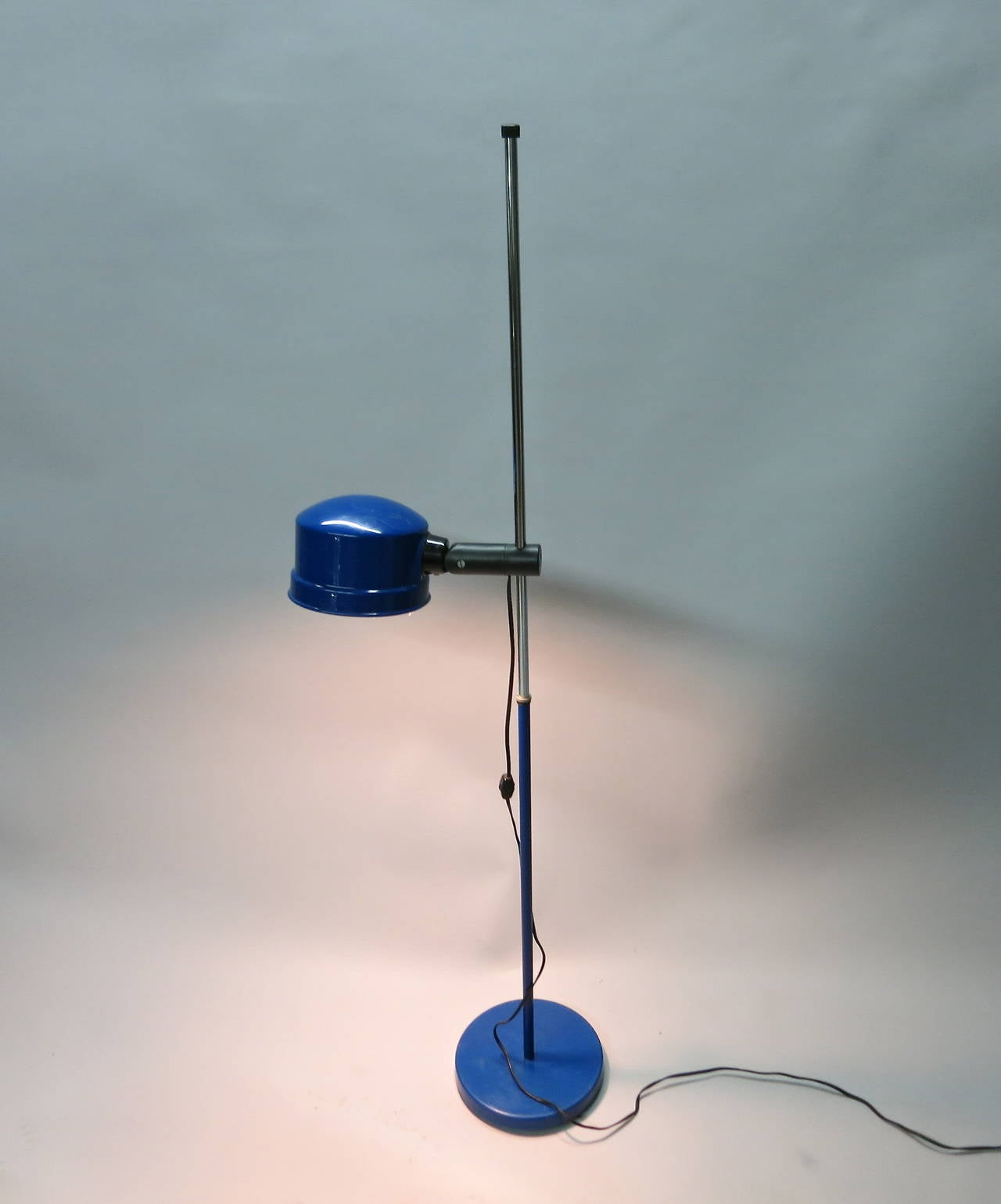 standing floor lamp by kovacs circa 1960 made in usa at